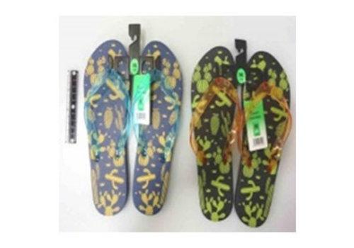 Beach sandals M cactus