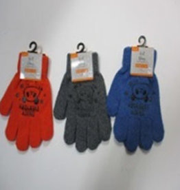 Pika Pika Japan Kids knit gloves with non-slip print