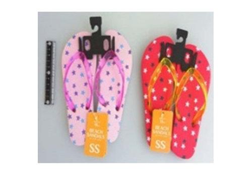Beach sandals SS size star