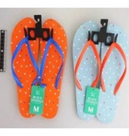 Pika Pika Japan Beach sandals M size dot