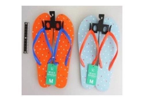 Beach sandals M size dot