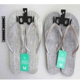 Pika Pika Japan Beach sandals M size texture wh