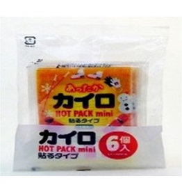 Pika Pika Japan Stickabe disposable heating pad mini 6p