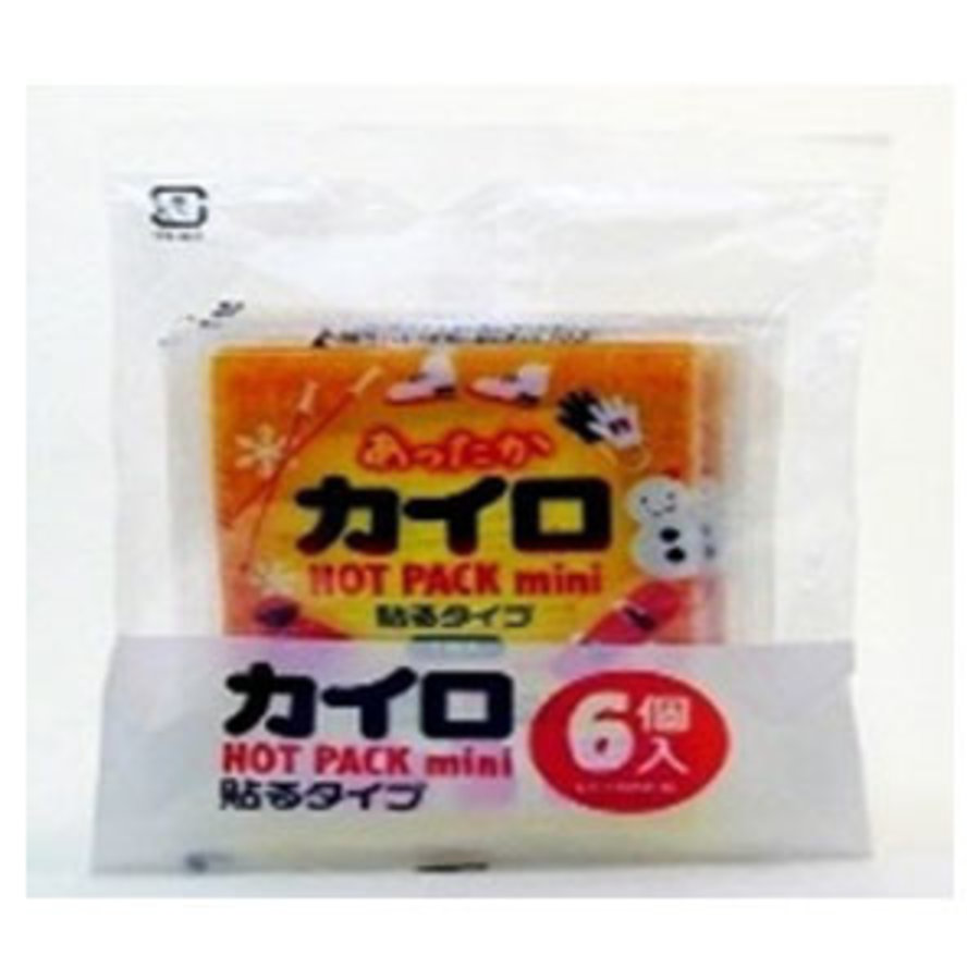 Stickabe disposable heating pad mini 6p-1