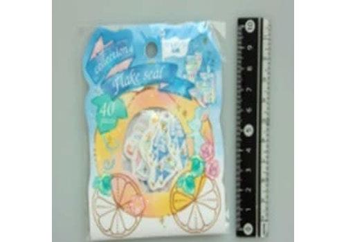 C flake sticker Cinderella 40p