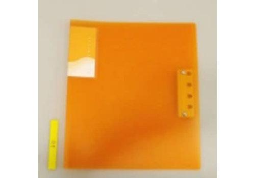 A4&A3 Z clasp file orange