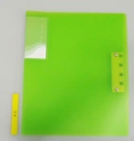Pika Pika Japan A4&A3 Z clasp file green