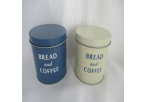 Bread tin can with lid