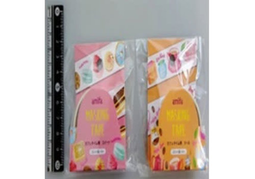 Masking tape 20mm tea time