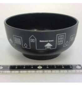 Pika Pika Japan Town motif bowl BK