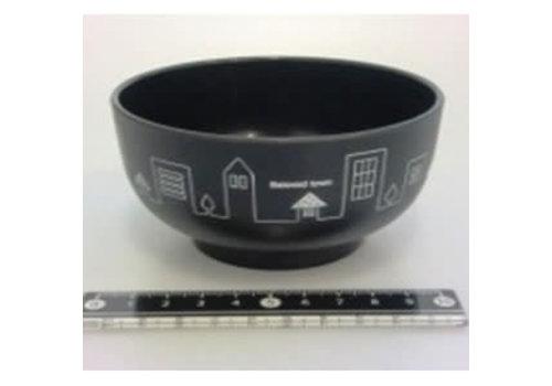 Town motif bowl BK
