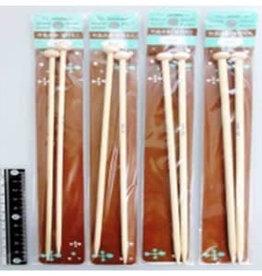 Pika Pika Japan Bamboo knitting needle with head mini