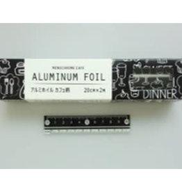 Pika Pika Japan Aluminum foil cafe motif 20cm x 2m