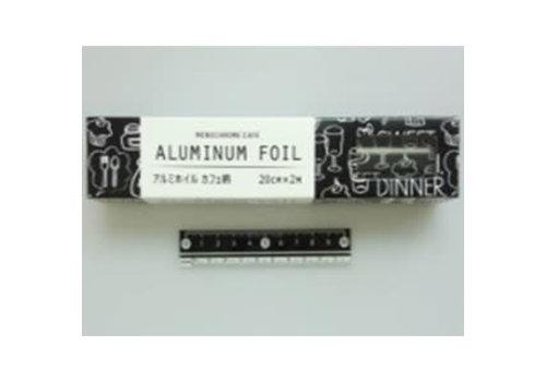 Aluminum foil cafe motif 20cm x 2m