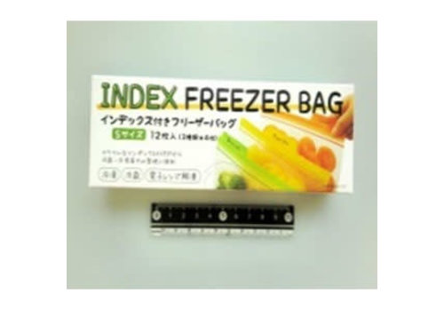 Index freezer bag S 12p
