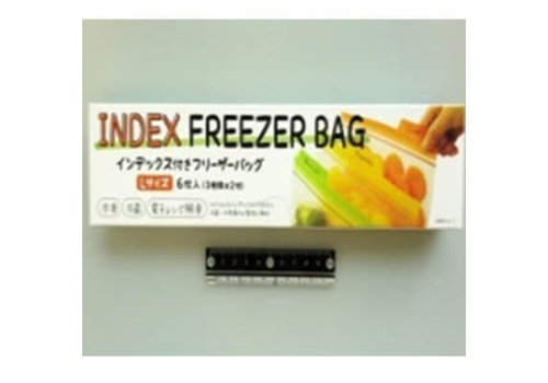 Index freezer bag L 6p