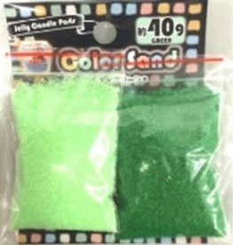 Pika Pika Japan Color sand p green/green 40g