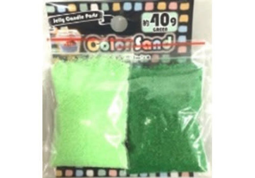 Color sand p green/green 40g