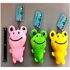 Pika Pika Japan Colorful frog key chain