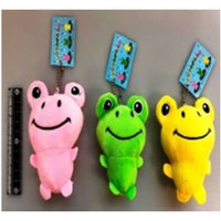 Colorful frog key chain