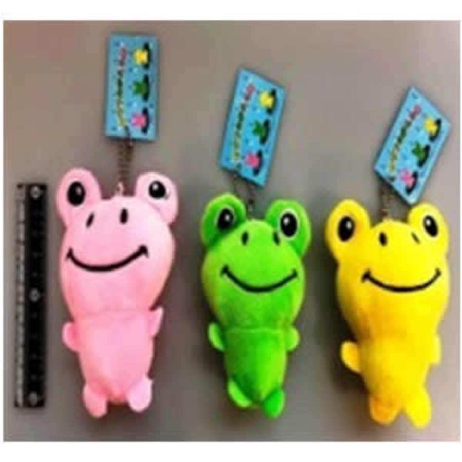 Colorful frog key chain-1