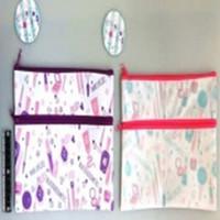 Fastener pouch M pastel cosmetics