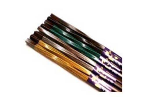 Bamboo Chopsticks Colorful & Twisted Long