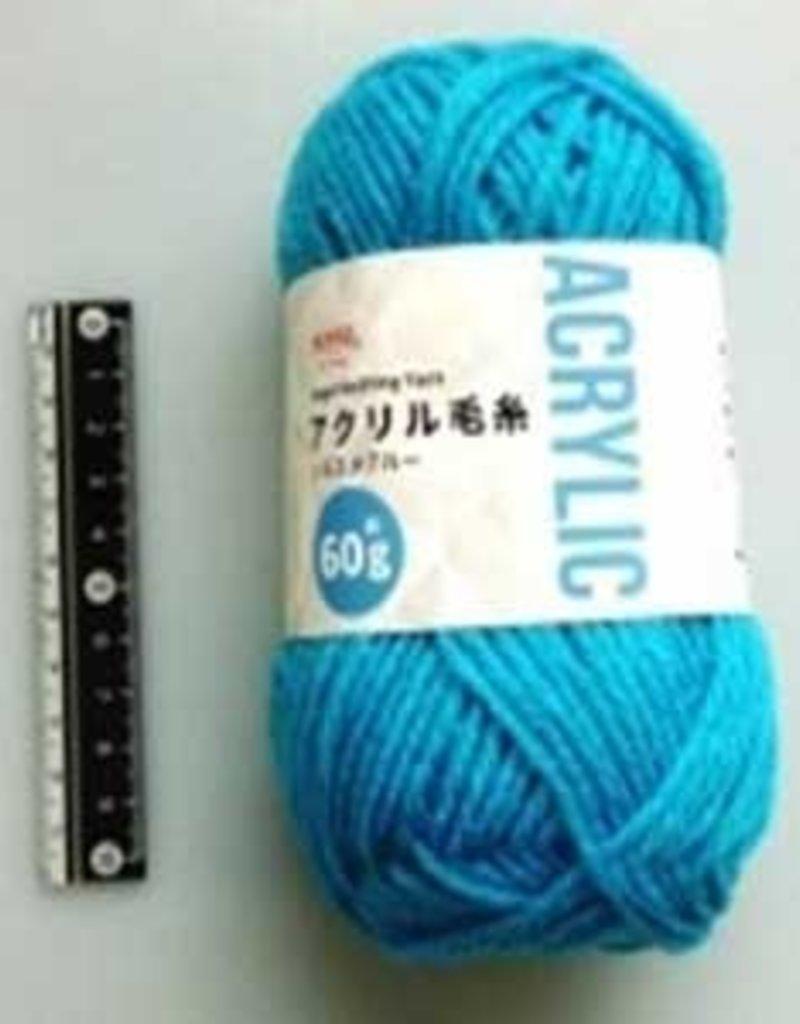Pika Pika Japan Acrylic knitting wool 60g siesta blue