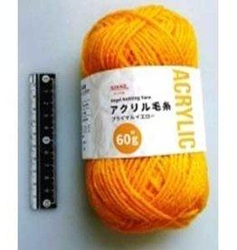 Pika Pika Japan Acrylic knitting wool 60g primal yellow