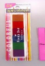 Pika Pika Japan 6 color stamp pad