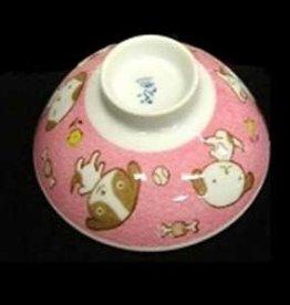 Pika Pika Japan rice bowl Little dog pk