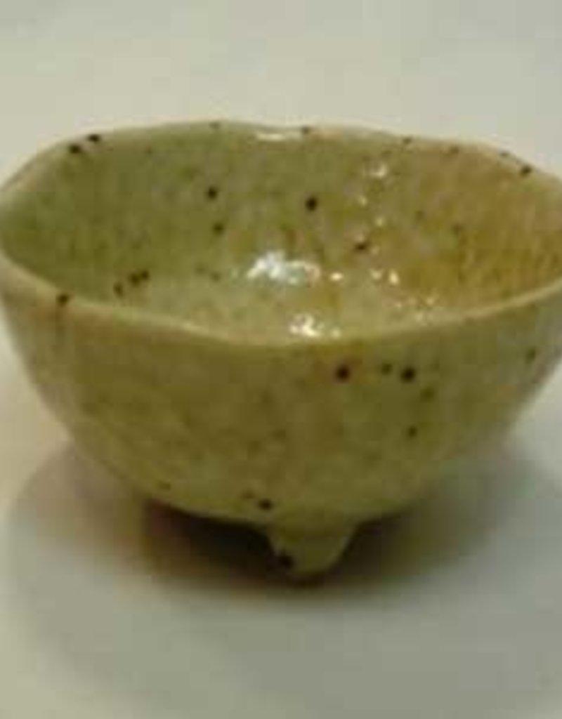 Pika Pika Japan 3 legs small bowl white
