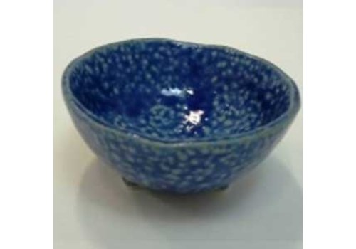 3 legs small bowl blue
