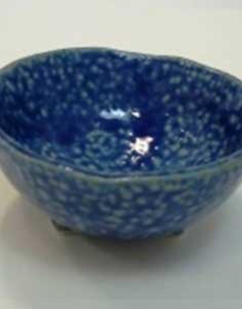 Pika Pika Japan 3 legs small bowl blue