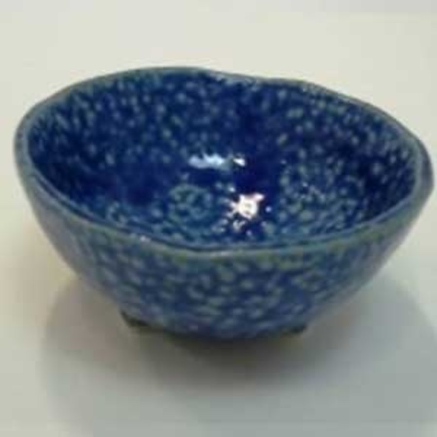 3 legs small bowl blue-1