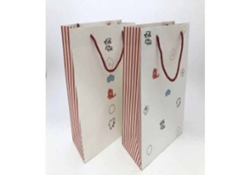 Paper bag fortune pattern