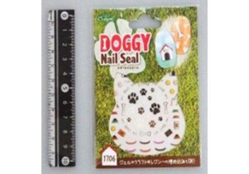 Doggy nail sticker wonderful life