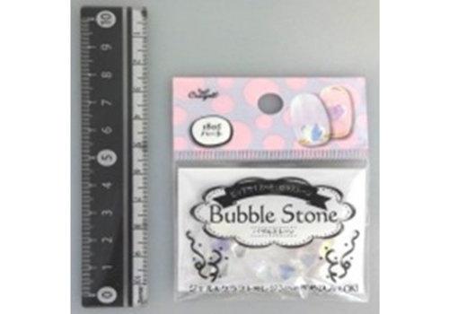 Bubble stone nail parts heart