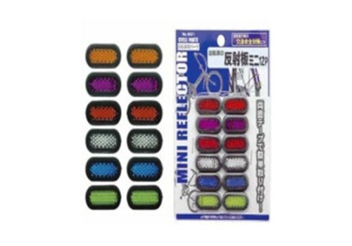 Reflector mini 12P for bicycle