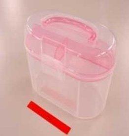 Pika Pika Japan Tough box Oval pink