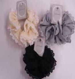Pika Pika Japan Chiffon design lace scrunchie : PB