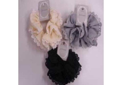 Chiffon design lace scrunchie : PB