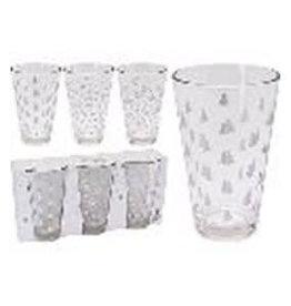 Koopman DRINKING GLASS SET 3PCS 300ML