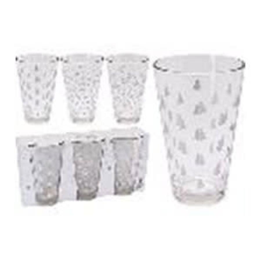 DRINKING GLASS SET 3PCS 300ML-1