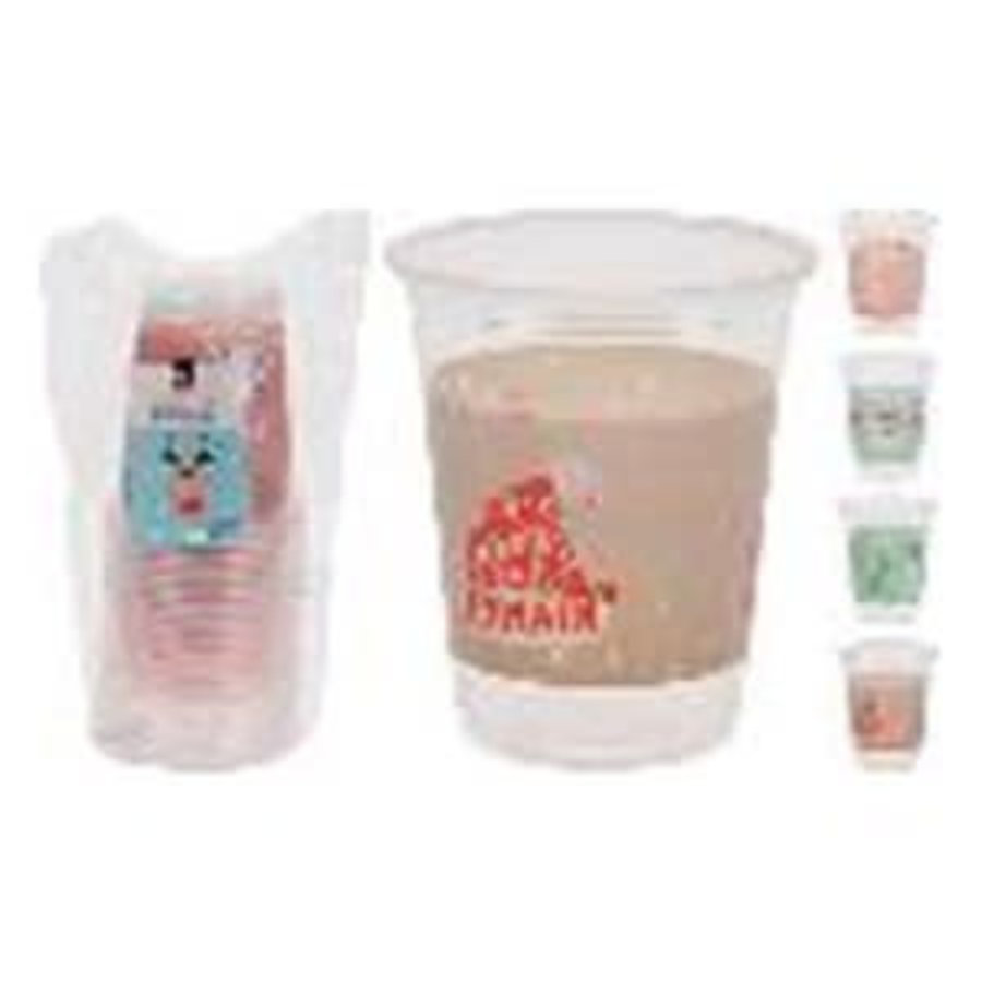 DRINKING CUP SET OF 20PCS 4ASS-1