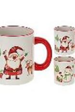 Koopman MUG WITH CHRISTMAS DESIGN 2ASS