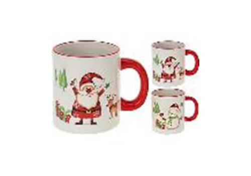 MUG WITH CHRISTMAS DESIGN 2ASS