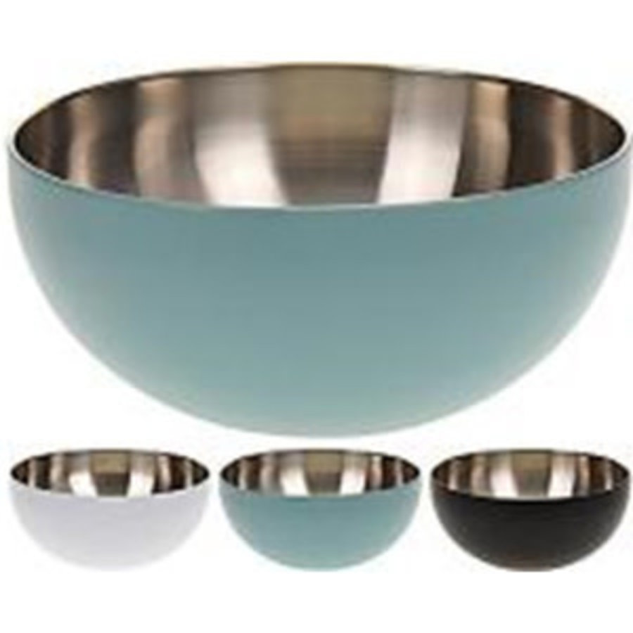 BOWL STAINLESS STEEL 2OXH9CM-1