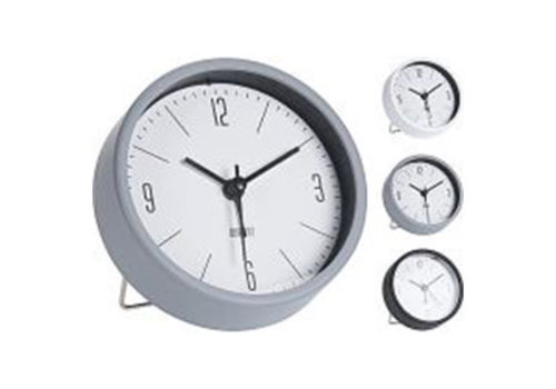 ALARM CLOCK PP 3ASS CLR