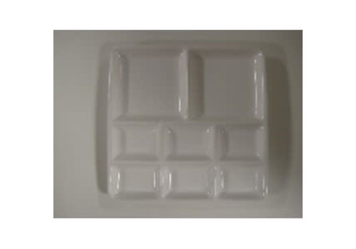 Servingplate 8 boxes